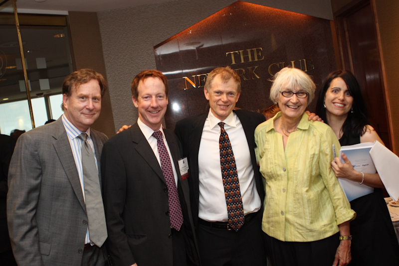 Michael Goldstein, John Hatch, David Henderson, Ingrid Reed and Teri Jover at the 2011 Smart Growth Awards