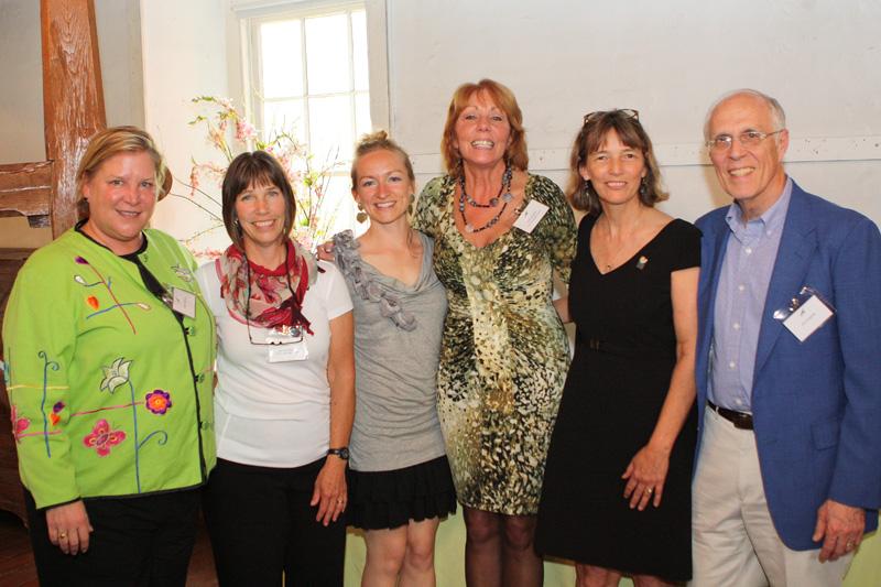 2012 Women & Wildlife Award winners with the presenters