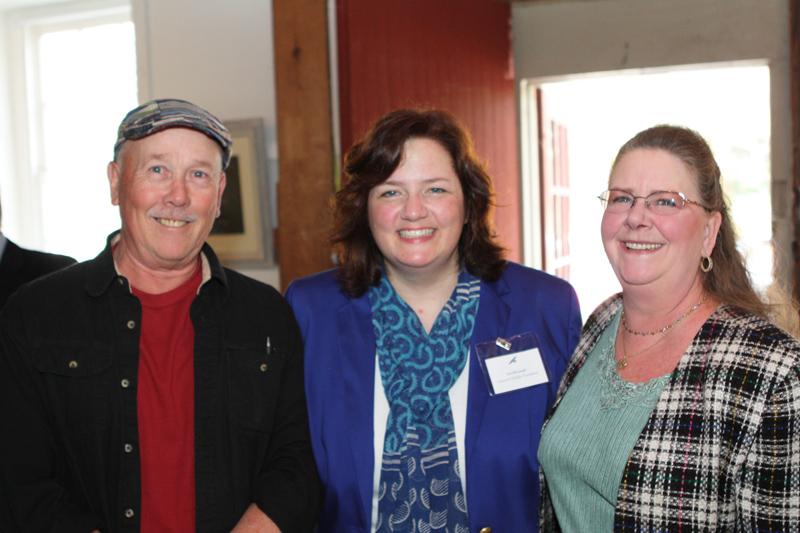 Development Director Liz Silvernail with 2012 Women & Wildlife Award attendees