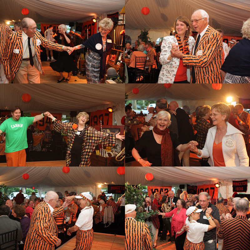 Guests Dancing at the 2012 Princeton Reunions at the Scheide Home
